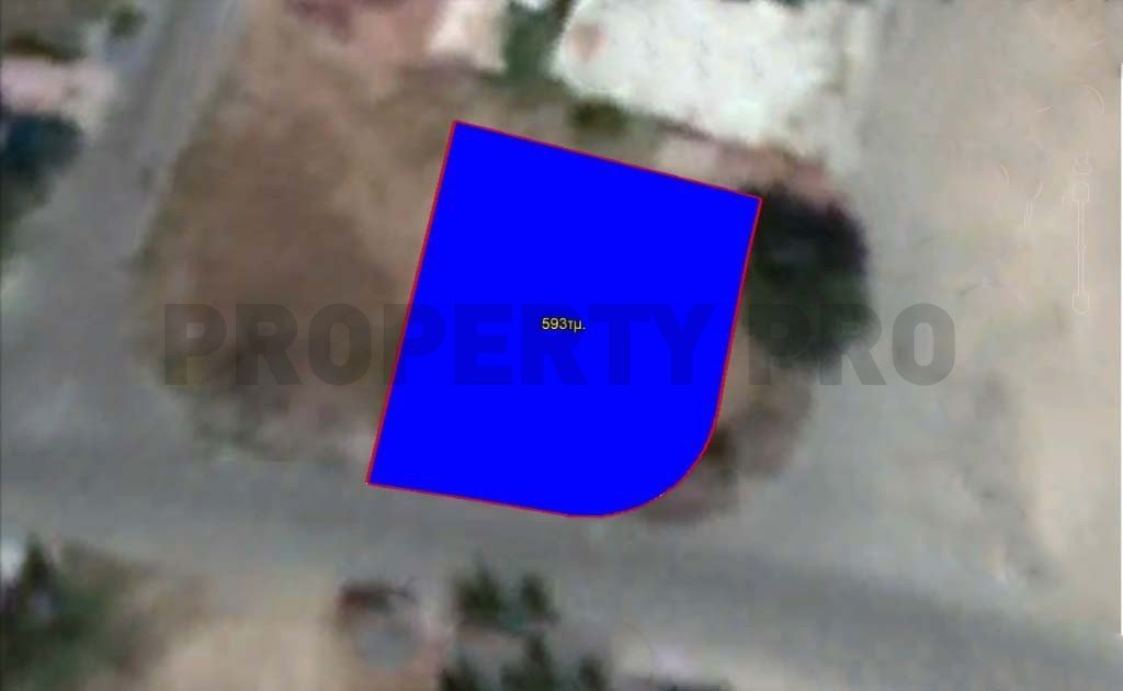 For Sale, Corner Residential Plot in Archangelos