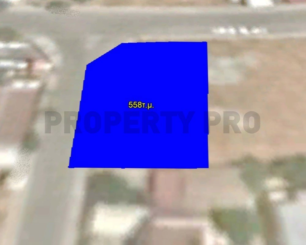 For Sale, Corner Residential Plot in Platy Aglantzias