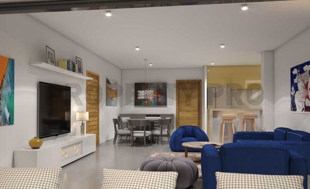 For Sale, Three-Bedroom Modern Apartment in Acropolis