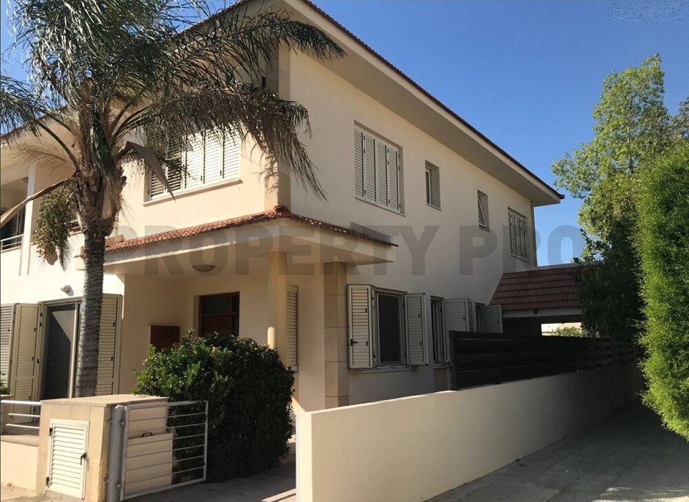 For Sale, Four-Bedroom plus Attic Room Semi-Detached House in Strovolos